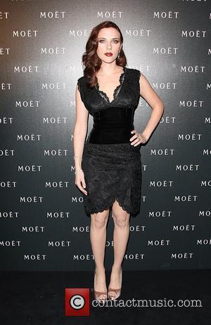Scarlett Johansson Moet & Chandon: A Tribute To Cinema held at the Big Sky Studios. London, England - 24.03.09