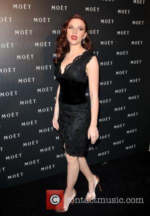 Scarlett Johansson Mo't & Chandon: A Tribute To Cinema held at the Big Sky Studios. London, England - 24.03.09