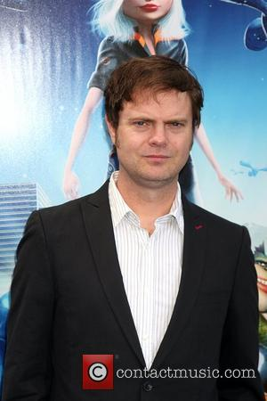 Rainn Wilson Los Angeles premiere Monsters Vs Aliens held at the Gibson Amphitheater Universal City Walk Los Angeles, California -...