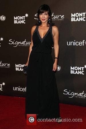 Laura Harring The Montblanc Signature for Good Charity Gala held at the Paramount studios - Arrivals Los Angeles, California -...