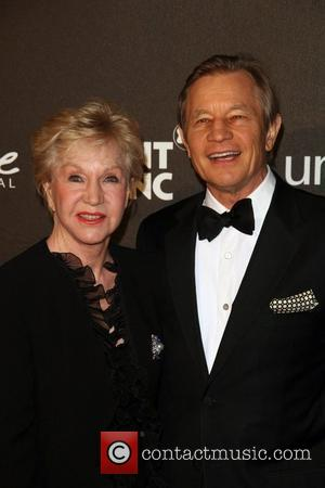 Michael York and his wife Patricia McCallum The Montblanc Signature for Good Charity Gala held at the Paramount studios -...