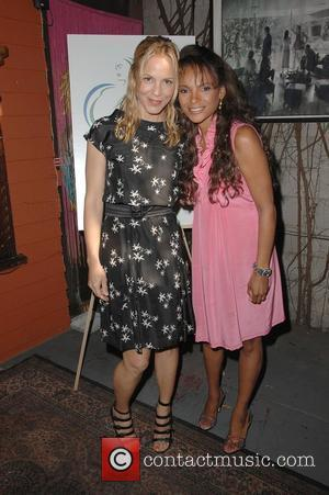 Maria Bello, Dr. Lisa Masterson Motherhood: A benefit for Maternal Fetal Care International (MFCI) held at Cafe Des Artistes Hollywood,...
