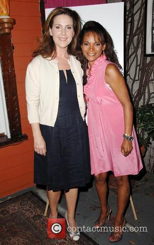Peri Gilpin, Dr. Lisa Masterson Motherhood: A benefit for Maternal Fetal Care International (MFCI) held at Cafe Des Artistes Hollywood,...