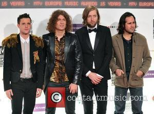 The Killers MTV Europe Music Awards 2008 held at the Echo Arena - Arrivals Liverpool, England - 06.11.08