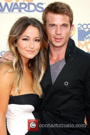 Cam Gigandet and Dominique Geisendorff 2009 MTV Movie Awards held at the Gibson Amphitheatre - Arrivals Los Angeles, California -...