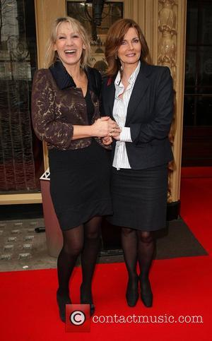 Ingrid Tarrant and Annabel Giles