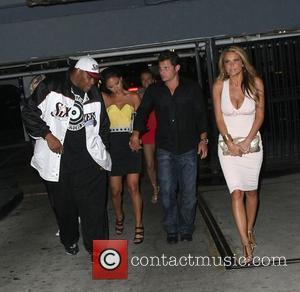 Vanessa Minnillo and Nick Lachey leaving My House nightclub Los Angeles, California - 13.05.09