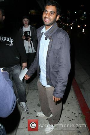 Aziz Ansari Celebrities arriving outside MyHouse for the US Weekly 'Hot Hollywood' issue launch party Los Angeles, California - 22.04.09