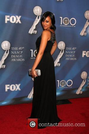 Tia Mowry  40th NAACP Image Awards held at the Shrine Auditorium - Arrivals Los Angeles, California - 12.02.09
