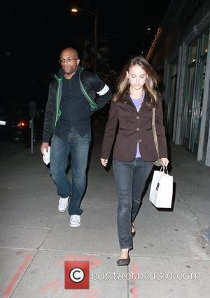 Natalie Portman leaving Joan's on Third restaurant with a male companion Los Angeles, California - 13.01.09