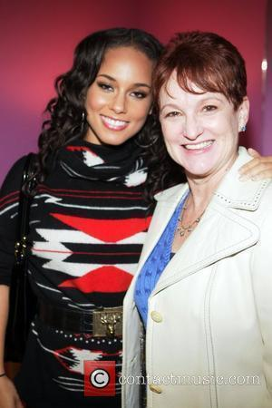 Alicia Keys and her mother, Terri Augello  Dr. Barbara Ann Teer's Institute of Action Arts launch for the 41st...