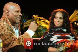 Avery Brooks and Alicia Keys