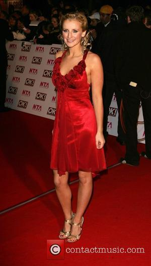 Carly Stenson National Television Awards 2008 held at the Royal Albert Hall - Arrivals London, England - 29.10.08