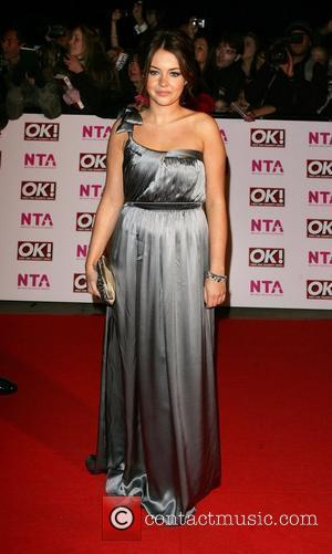 Lacey Turner National Television Awards 2008 held at the Royal Albert Hall - Arrivals London, England - 29.10.08
