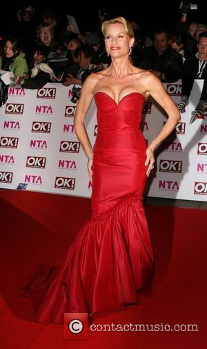 Nicolette Sheridan National Television Awards 2008 held at the Royal Albert Hall - Arrivals London, England - 29.10.08