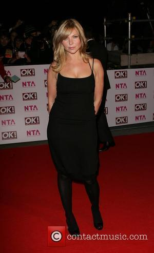 Samantha Janus National Television Awards 2008 held at the Royal Albert Hall - Arrivals London, England - 29.10.08