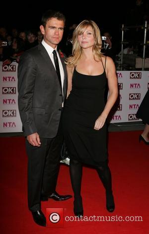 Scott Maslin and Samantha Janus National Television Awards 2008 held at the Royal Albert Hall - Arrivals London, England -...