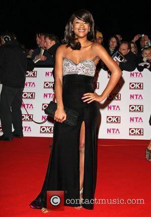 Tiana Benjamin National Television Awards 2008 held at the Royal Albert Hall - Arrivals London, England - 29.10.08