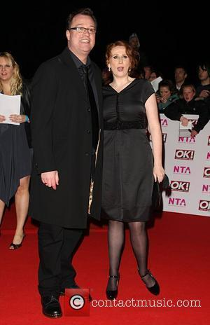 Catherine Tate and Guest National Television Awards 2008 held at the Royal Albert Hall - Arrivals London, England - 29.10.08