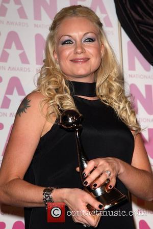 Rita Simons, Winner of 'Best Newcomer Award'  National Television Awards 2008 held at the Royal Albert Hall - Press...