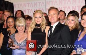 Barbara Windsor, Rita Simmons, Jason Donovan National Television Awards 2008 held at the Royal Albert Hall - Press Room London,...