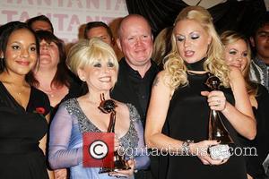 Barbara Windsor, Steve McFadden and Rita Simmons Eastenders winner of Best Soap The National Television awards 2008 held at the...