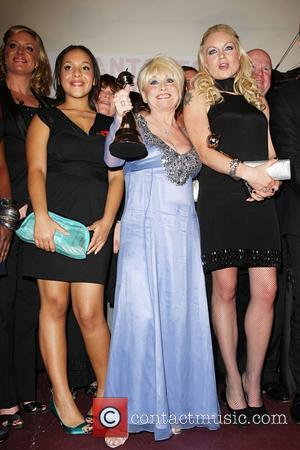 Barbara Windsor, Steve McFadden and Rita Simmons Eastenders winner of Best Soap The National Television awards 2008 held at the...