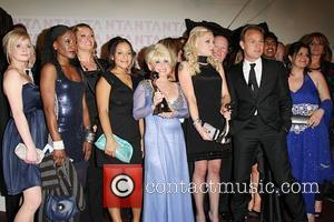 Barbara Windsor, Steve McFadden and Rita Simmons, Jason Donovan The National Television awards 2008 held at the Royal Albert Hall...