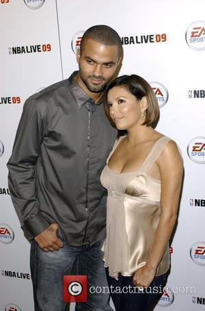 Tony Parker and Eva Longoria Parker Launch party for EA Sports video game NBA LIVE 09 at Beso Hollywood, California...