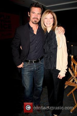 Josh Brolin and Dawn Hudson
