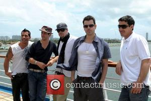 Danny Wood, Donnie Wahlberg and New Kids On The Block