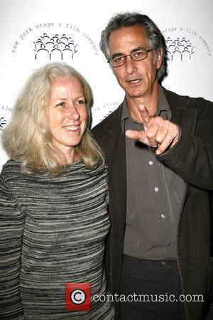 David Strathairn and Guest New York Stage and Film Annual Gala held at Capitale New York City, USA - 10.11.08