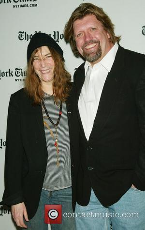 Patti Smith and Oskar Eustis