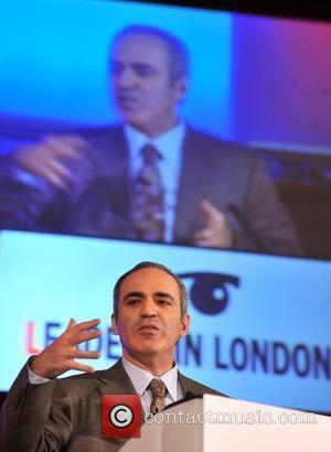 Garry Kasparov Leaders in London conference held at Westminster Central Hall London, England - 03.12.08