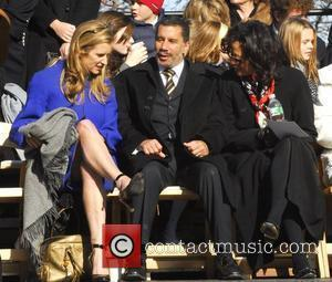 Kerry Kennedy and New York Governor David Paterson