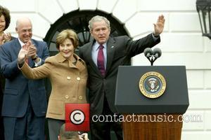 Laura Bush, Barack Obama and White House