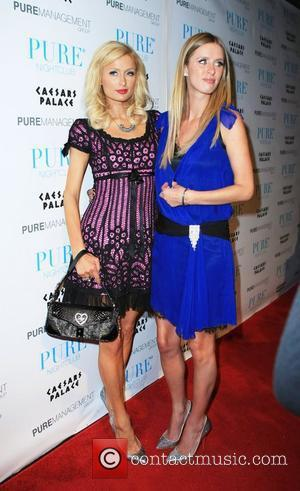Paris Hilton and Nicky Hilton celebrate Nicky's birthday at Pure nightclub in Caesars Palace Hotel and Casino Las Vegas, Nevada...
