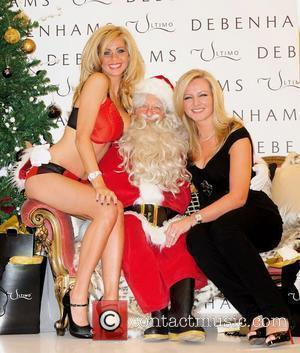 Nicola Mclean and Michelle Mone The launch of Ultimo's new 'Red Boudoir' lingerie range at Oxford Street's Debenhams department London,...