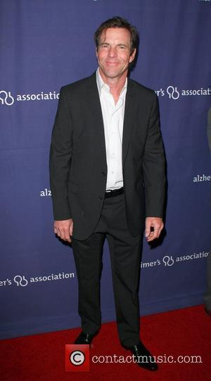Dennis Quaid and Beverly Hilton Hotel