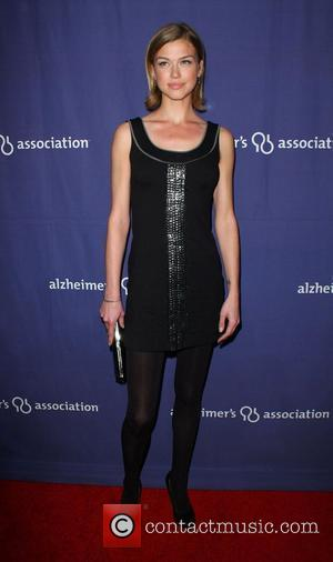 Adrianne Palicki The Alzheimer's Association's 17th Annual A Night At Sardi's held at the Beverly Hilton Hotel Beverly Hills, California...