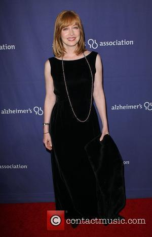 Sharon Lawrence and Beverly Hilton Hotel