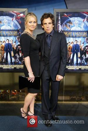 Christine Taylor and Ben Stiller The DC premiere of Night at the Museum: Battle of the Smithsonian at the National...
