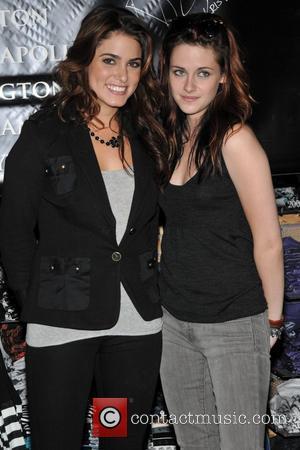 Nikki Reed and Kristen Stewart
