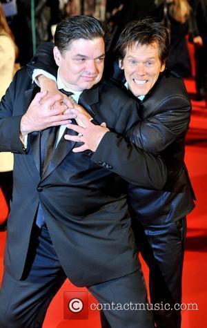 Oliver Platt and Kevin Bacon