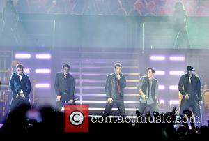 New Kids On The Block, Jonathan Knight, Jordan Knight, Danny Wood and Donnie Wahlberg
