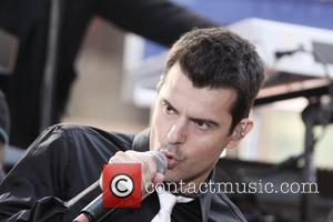 Jordan Knight of New Kids On The Block  performs on NBC's 'Today' show at Rockefeller Center New York City,...