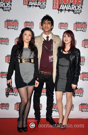 Kathryn Prescott, Luke Pasqualino and Magan Prescott The 2009 Shockwaves NME Awards held at the Brixton Academy.  London, England...