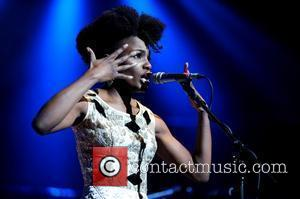 Shingai Shoniwa Noisettes performing at the Teenage Cancer Trust charity concert at the Royal Albert Hall London, England - 26.03.09