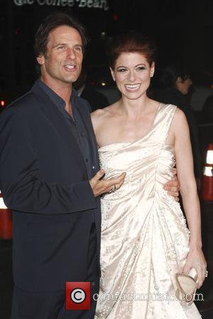 Debra Messing and Hart Bochner