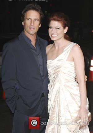Hart Bochner and Debra Messing